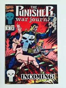 """1993 THE PUNISHER WAR JOURNAL """"INCOMING!"""" #53"""