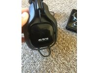 Astro a40 headset + Mixamp, works for PC, XB1, PS4