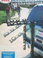 Bell folding hitch-biker rack 4 BIKES!!!