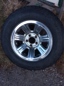 New Snow Tires and Rims 205/70R15