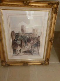 2 Nice picture frames with Durham Castle