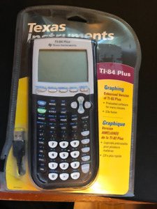 New/Sealed Texas Instruments TI-84 Plus Graphing Calculator