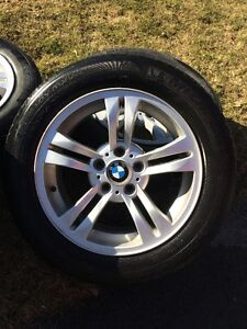 BMW OEM X3 Rims and Michelin Tires