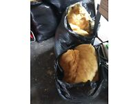 Bags of loft insulation free