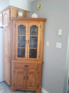 Sweet country corner hutch
