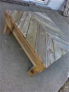 Outdoor Reclaimed Patio Coffee Table