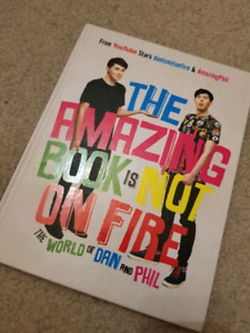 The smazing book is not on fire