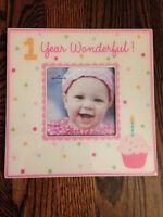 "Hallmark Baby Girl ""1 Year"" Frame"