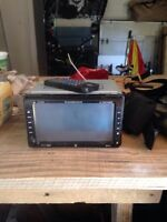 Dual in dash DVD player