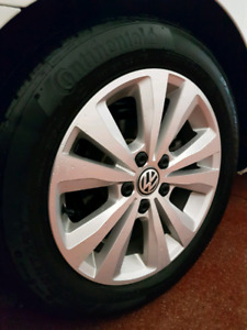 VW ALLOY RIMS IN EXCELLENT CONDITION 5X112