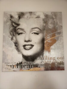 Marilyn Monroe Large Canvas