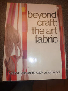 Book: Beyond Craft - The Art Fabric Kitchener / Waterloo Kitchener Area image 1
