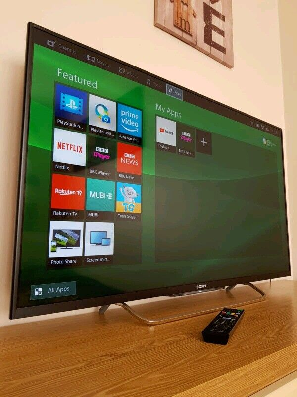 Sony Bravia 42 inch SMART TV (Like NEW) and Free Glass Unit | in Aberdeen |  Gumtree