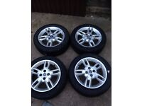 16 inch fiat punto alloy wheels