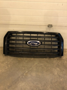 2017 GENUINE OEM FORD F150 SPORT FRONT GRILL, ABSOLUTE BLACK.