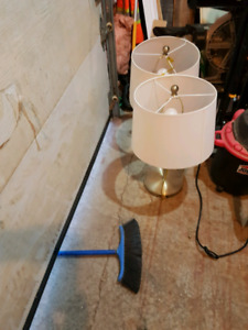 Two lamps in great shape for sale