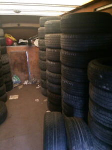 TIRES... GOOD USED ALL SEASON TIRES...