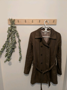 M0851 beautiful trench coat