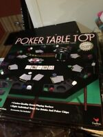 Poker table top and everything you need!