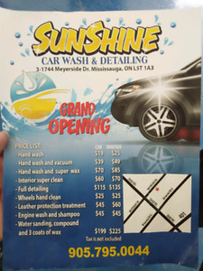 Sunshine Car wash and detailing