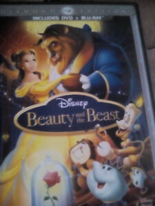 Beauty and the beast blue ray and dvd