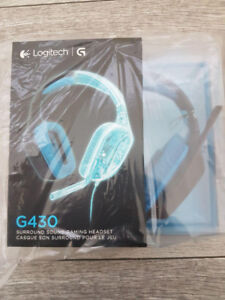 Logitech G430 Surround Sound Gaming Headset. New and Unopened