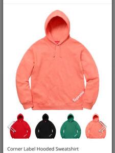 Supreme SS18 Week 1 hoodie