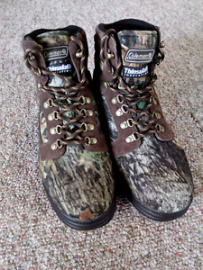 Awesome Coleman Camouflage boots!