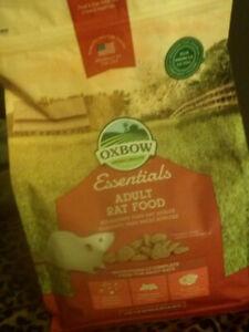 2 Bags Oxbow Adult Rat Food