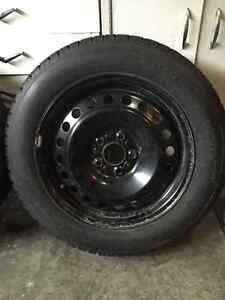 4 winter tires and rims for sale London Ontario image 2