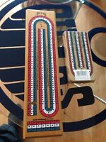 One wood bicycle cribbage board and one plastic 1 both are new