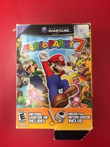 Mario party 7 w/ big box and mic  Kitchener / Waterloo Kitchener Area image 1