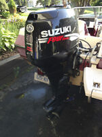 50HP Suzuki Four Stroke EFI - Excellent Condition