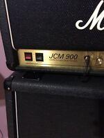 marshall jcm900 100watt head + cab