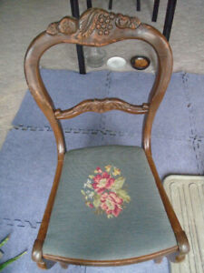 Antique Chair, by John C. Mundell 1849 to 1922,  100+ years old.