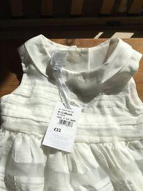 2 X Beautiful baby Jasper Conran dresses
