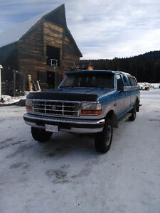 1992 Ford  F-250, 7.3 auto 4x4, extended cab, $2800.00