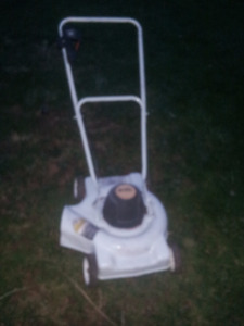 black and decker electric lawn push mower