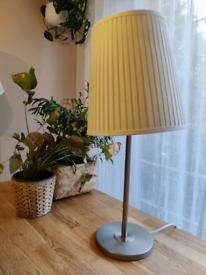 Table lamp with a matching floor lamp