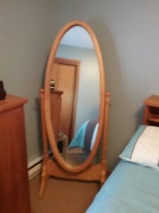 Cheval Mirror Hand Crafted