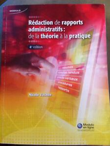 Rédaction de rapports administratifs : De la théorie à la prat.