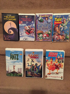 VHS Movie Tapes - Various Ones
