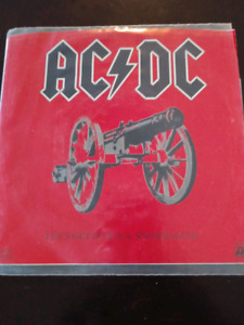 AC/DC LETS GET IT UP 45 RPM VINYL RECORD