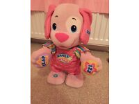 Fisher price pink dance and wiggle
