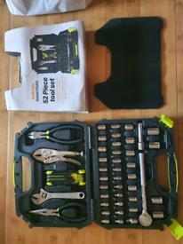 New Halfords Essentials 52 Piece Tool Kit
