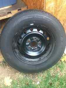 4 summer tires on rims. Oakville / Halton Region Toronto (GTA) image 1