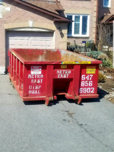 Flat Rate Garbage Bin Rentals 647-856-6902 10-40 Yard Bins!!!