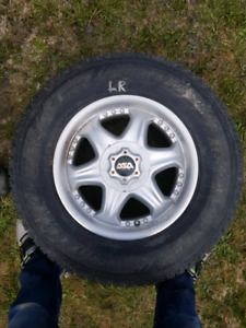 Winter Truck Tires and Rims