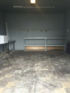 Garage/storage space or workshop for handyman for rent