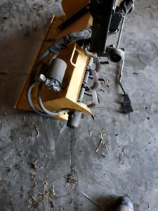 """John Deere 42"""" hydraulic tiller"""